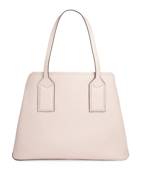 Image 3 of 4: The Marc Jacobs The Editor Large Pebbled Leather Tote Bag