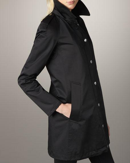 Burberry Brit Bowpark Rain Jacket Neiman Marcus