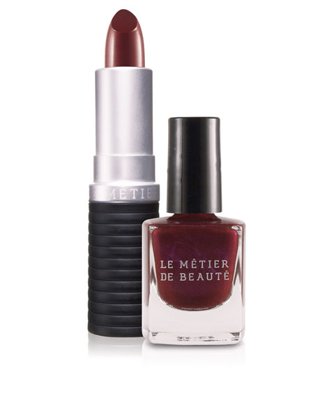 Ken Downing's Lip and Nail Duo - Bodacious Bordeaux