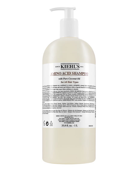 Image 1 of 5: Kiehl's Since 1851 33.8 oz. Amino Acid Shampoo