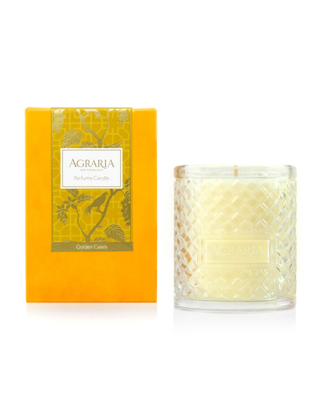 Agraria Golden Cassis Woven Crystal Perfume Candle, 7