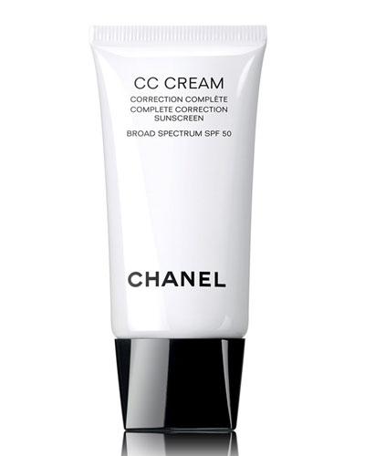 <b>CC CREAM</b><br>Complete Correction Sunscreen Broad Spectrum SPF 50, 1.0 oz.