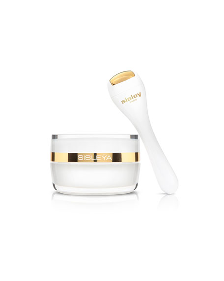 Sisley-Paris Sisleya L'Integral Anti-Age Eye & Lip Contour Cream & Limited Edition Massage Tool, 0.5 oz.