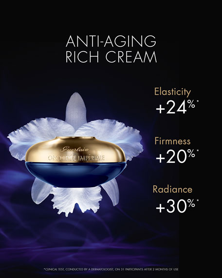 Image 4 of 5: Guerlain 1.7 oz. Orchidee Imperiale Anti-Aging Rich Day Cream
