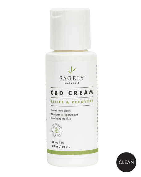 Sagely Naturals Relief and Recovery Cream, 2.0 oz./ 60 mL