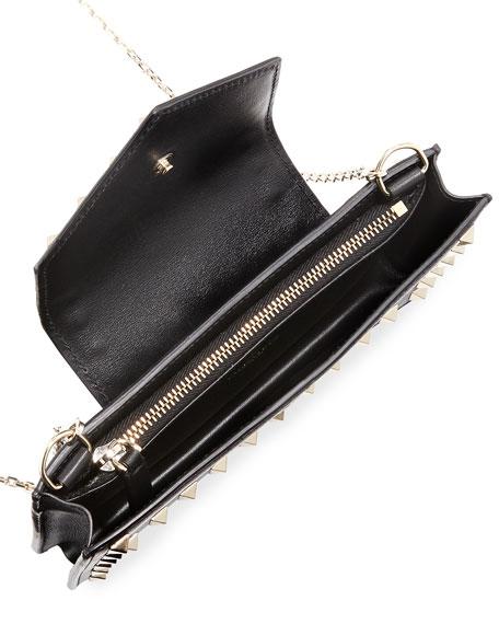 Rockstud Leather Flap Phone Case