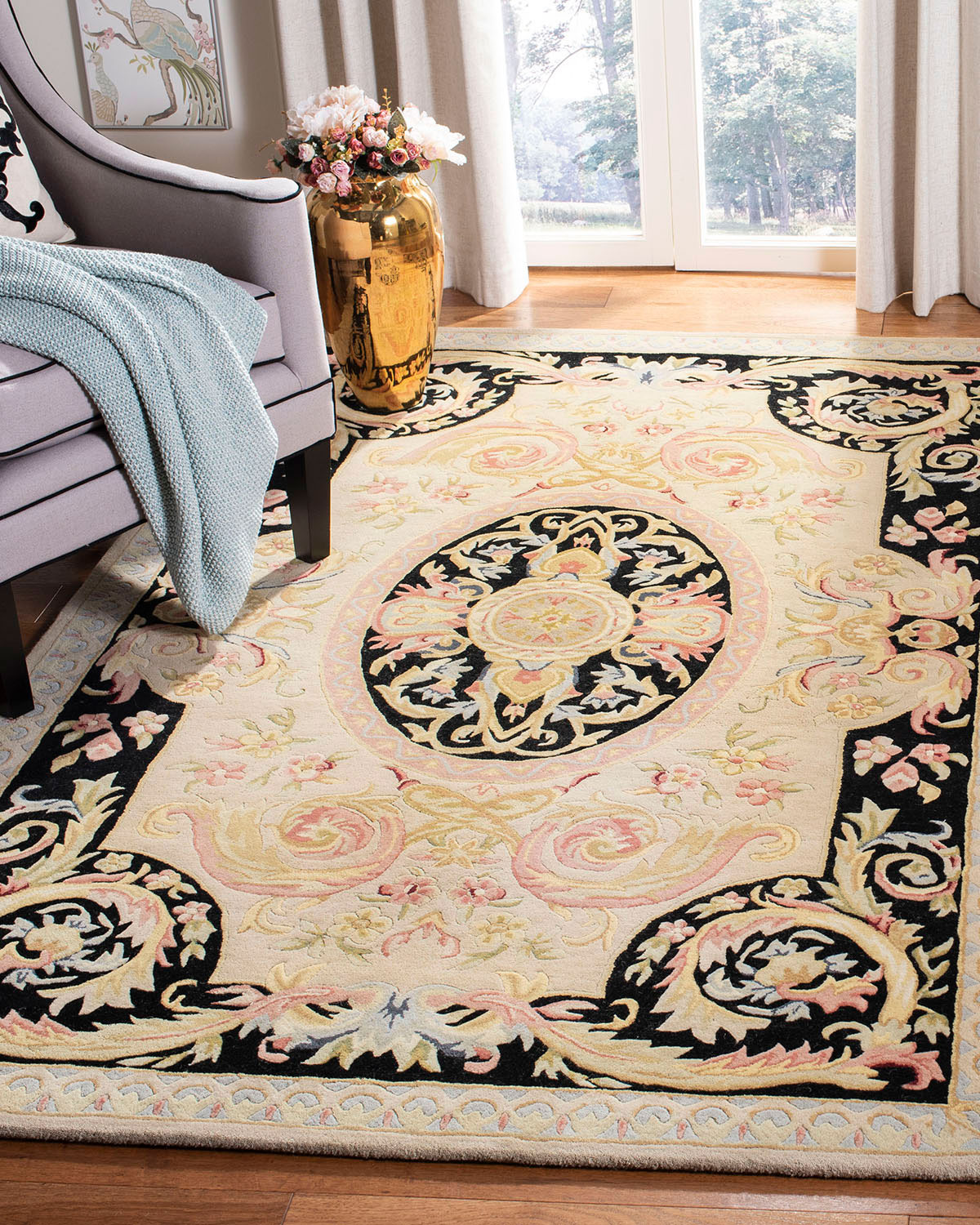 "Safavieh Mystical Garden Runner, 2'6"" x 8'"