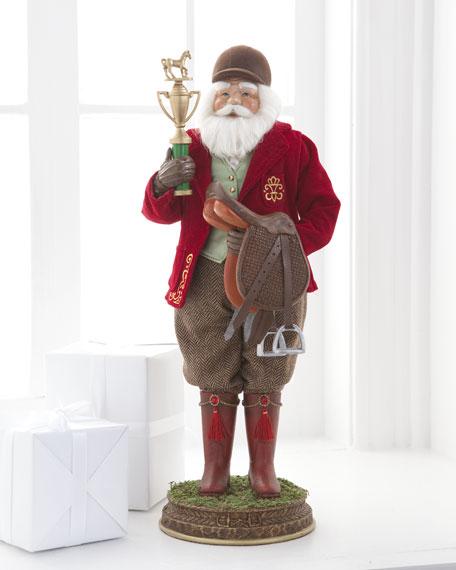 """Equestrian"" Santa"