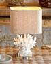"White ""Coral""  Lamp"