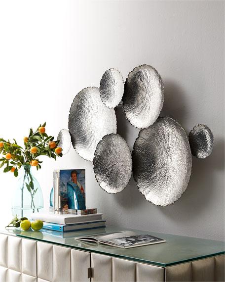 Ares Silver-Tone Wall Decor