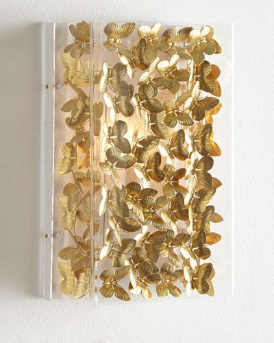 Small Butterfly Sconce