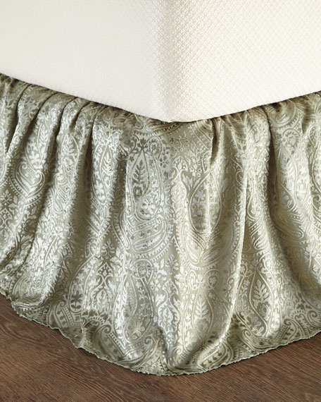 Queen Grazia Burnout Velvet Dust Skirt