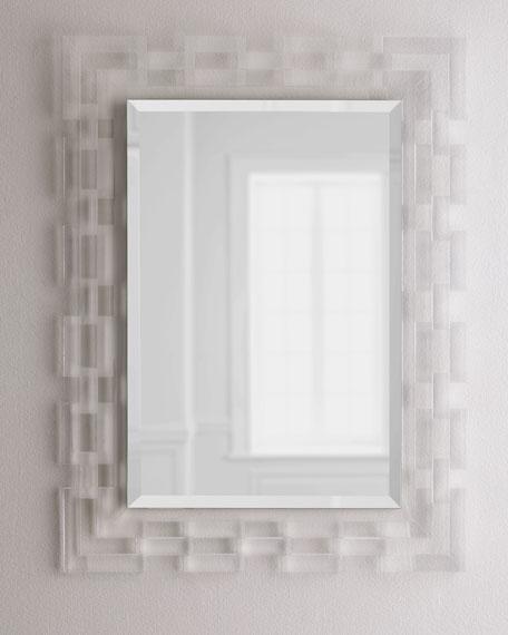Lachlan Acrylic-Frame Mirror