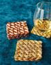 """Woven"" Filigran Coasters, Set of 4"