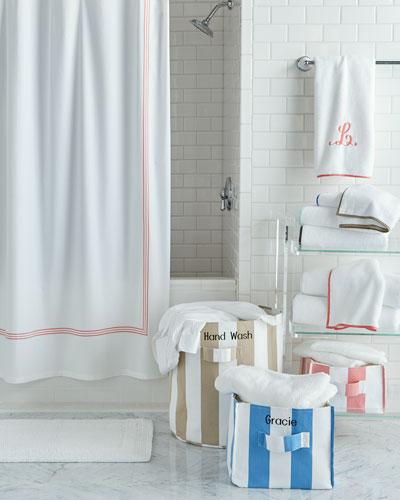 Pine Cone Hill Trio Shower Curtain