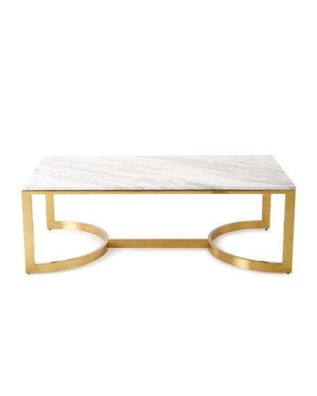Bernhardt Marquis Marble Coffee Table