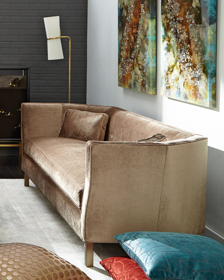 Betsey Button Tufted Sofa