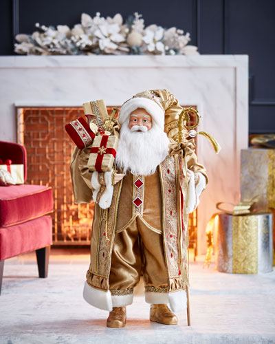 Gold & Glitter Collection Santa, 36