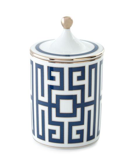Richard Ginori 1735 Labirinto Scented Candle, Blue