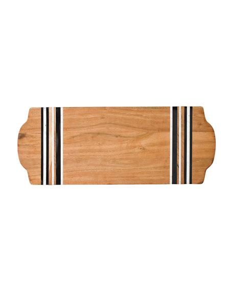 Juliska Stonewood Stripe Large Serving Board