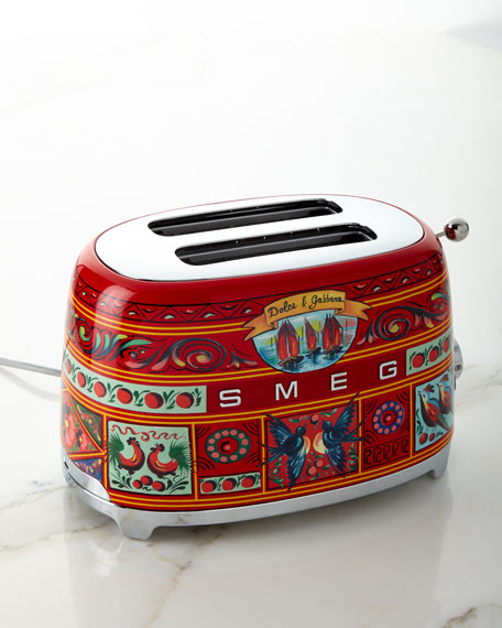 Image 1 of 6: Dolce Gabbana x SMEG Sicily Is My Love Toaster
