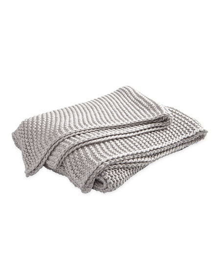 Image 3 of 4: Orla Cotton-Wool Throw Blanket