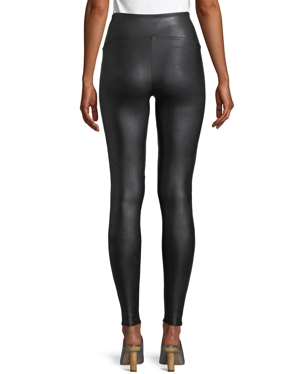 6bcd66ed32933 Spanx Ready-to-Wow™ Faux-Leather Leggings | Neiman Marcus