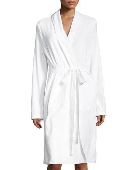 Skin French Terry Wrap Robe