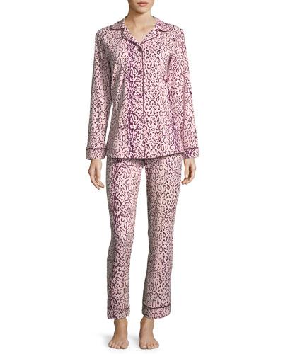 Berry Mighty Jungle Long-Sleeve Pajama Set
