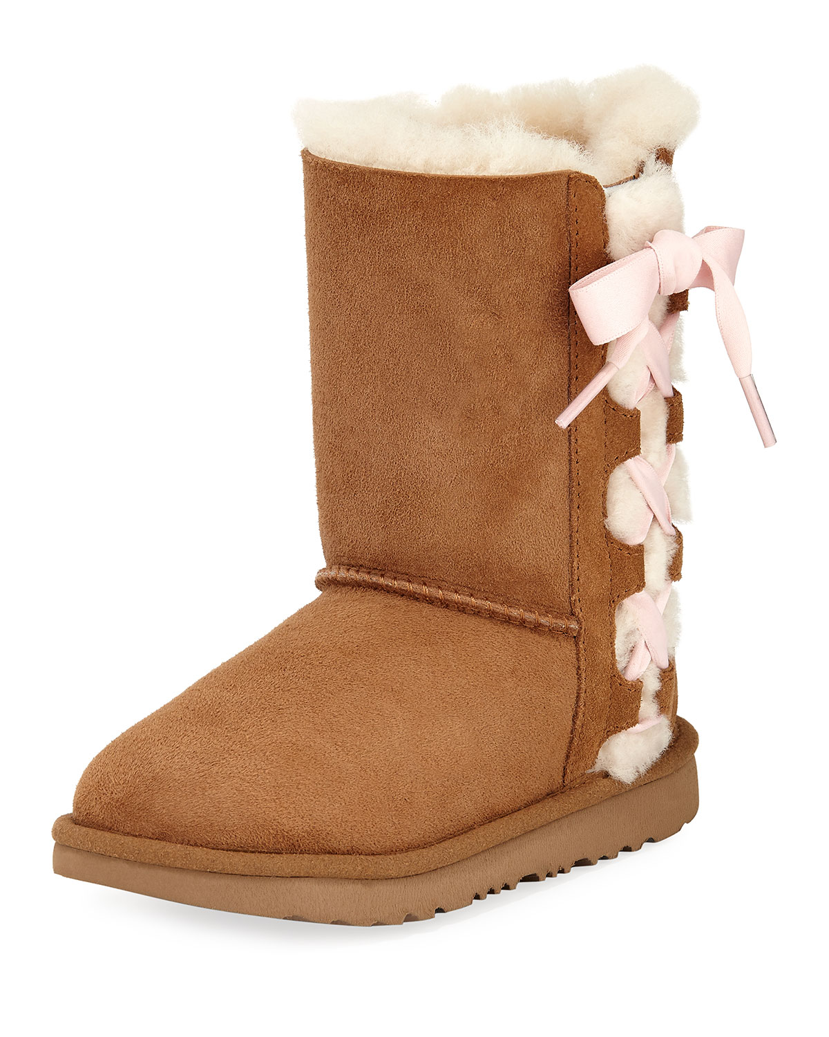 Ugg Pala Bow Boot Kid Sizes 13t 6y Neiman Marcus