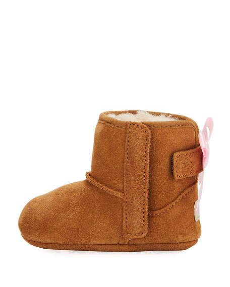 Image 2 of 4: UGG Jesse Bow II Suede Bootie, Infant Sizes 0-12 Months