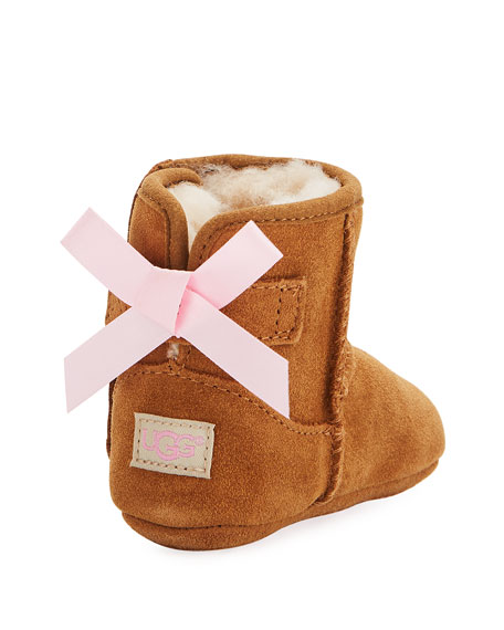 Image 4 of 4: UGG Jesse Bow II Suede Bootie, Infant Sizes 0-12 Months