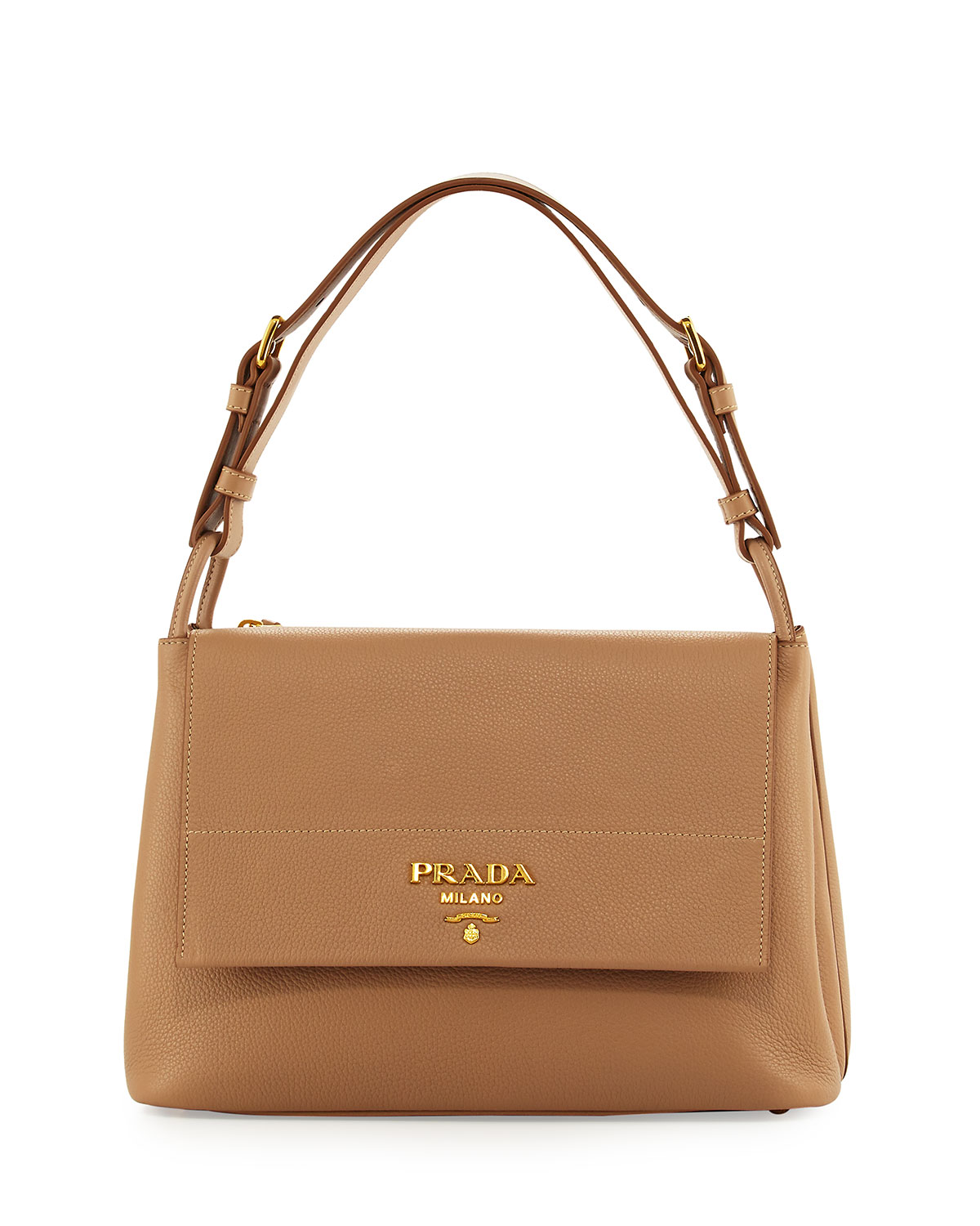 437614d1dd651 Prada Vitello Daino Shoulder Bag