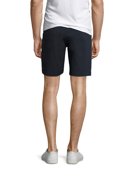 Zaine Witten Stretch-Cotton Shorts