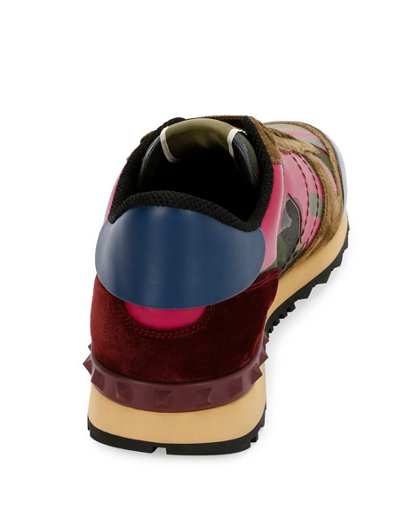 Men's Rockrunner Camo Sneaker