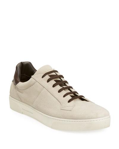Vulcanizzato Suede Low-Top Sneaker