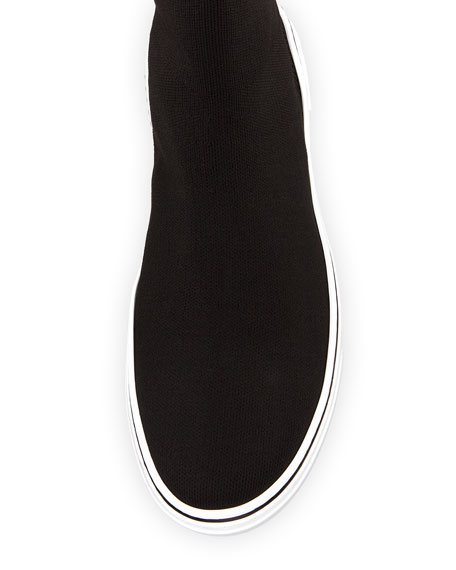 Givenchy Men's George V High-Top Sock Sneakers