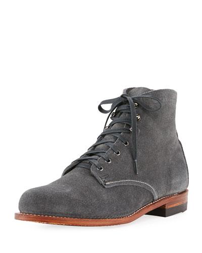 Original 1000 Mile Suede Boot  Gray