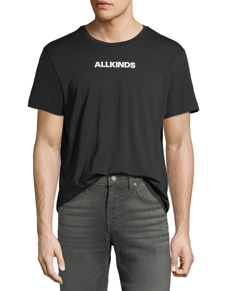 7 for all mankind Men's ALLKINDS Graphic Cotton