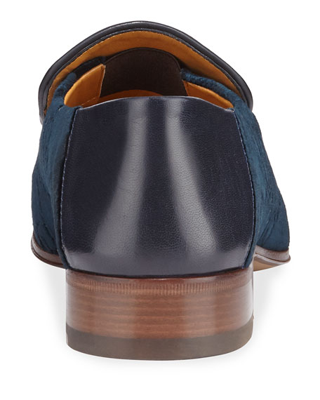 Gucci Horsebit GG Velvet Loafer