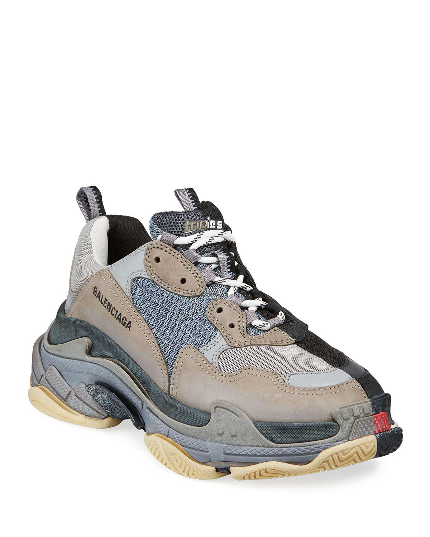 a528be219c4cc Balenciaga Men's Split Triple S Dad Sneakers | Neiman Marcus