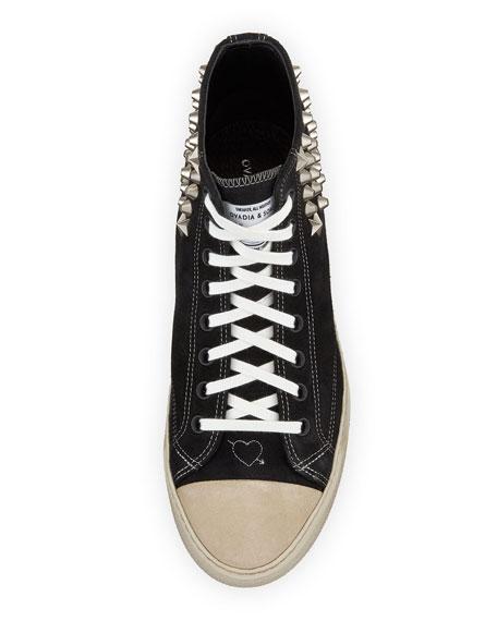 Ovadia Men's Type 02 Strummer High-Top Sneakers