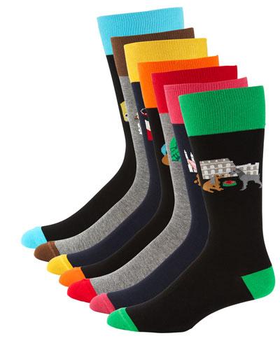 Men's 7-Pack Dog Gone Socks