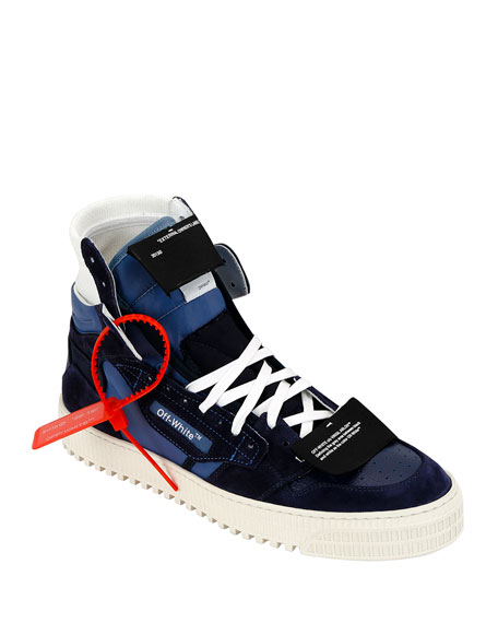 Off-White Men's Off Court Low-Top Canvas Sneakers