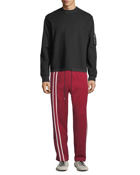 Helmut Lang Men's Sport Striped Track Pants