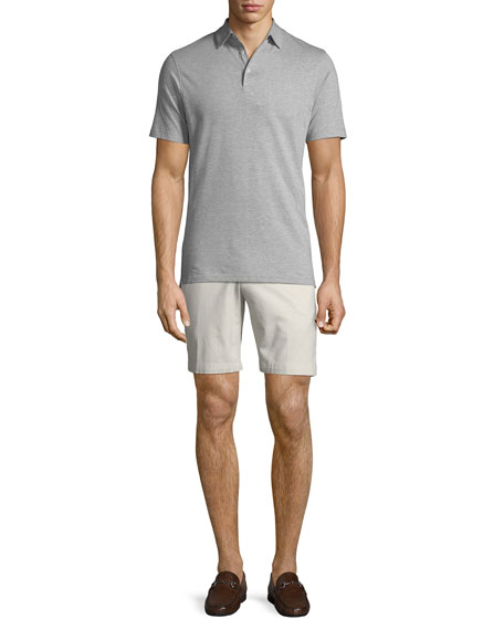 Image 3 of 3: Men's Crown Soft Touch Twill Shorts