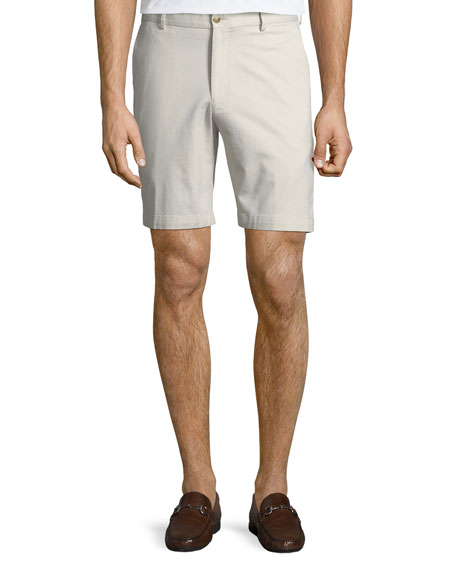 Image 1 of 3: Men's Crown Soft Touch Twill Shorts