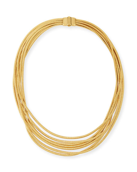 Image 1 of 3: Marco Bicego Cairo 18k Seven-Strand Necklace