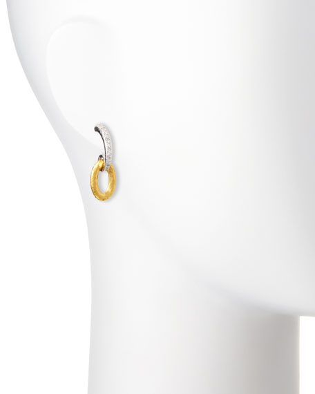 Galahad Double-Drop Earrings