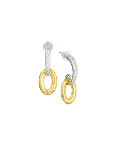 Galahad Double-Drop Earrings